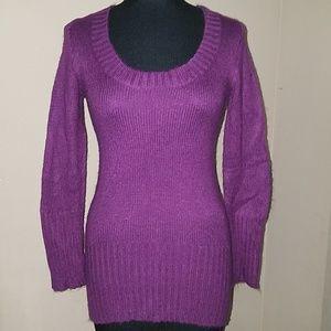 Xhilaration purple sweater size small